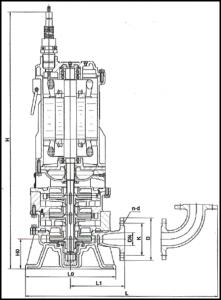 WQ Multi-stage sewage pumps